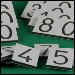 Grandes cartes des nombres - Montessori - gros plan