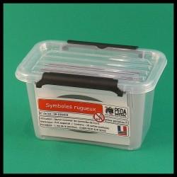 Chiffres rugueux - Montessori - boite