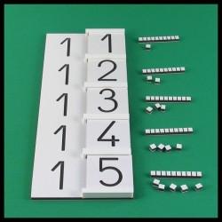 Tables de seguin 1 et 2 - avec quantités