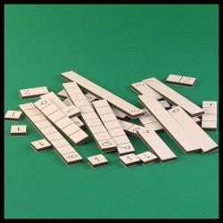 Tableau de l'addition - Montessori - chiffres