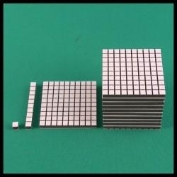 Cube de 1000 - Mathématique Montessori Pour comparaison des tailles