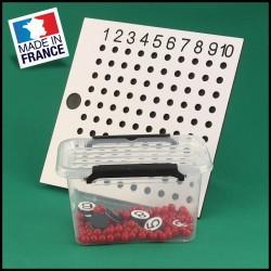Table de multiplication - Mathématique Montessori - vue de face