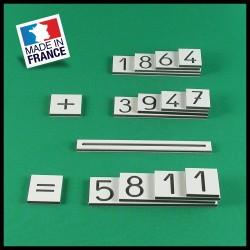 Grandes cartes des nombres - Montessori - couverture