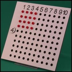 Table de multiplication - Mathématique Montessori - utilisation