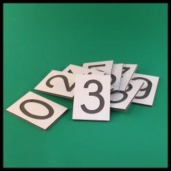 Symboles rugueux - Montessori